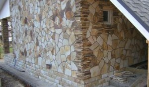Фасадный камень или плитняк для фасада с карьера К-групп фото