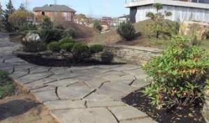 Натуральный камень плитняк для тропинок и дорог от К-групп фото