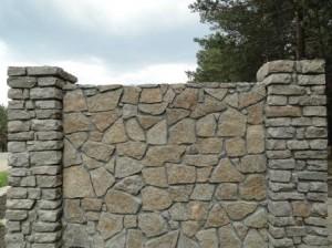 Забор из натурального гранита от 7 Камней К-групп фото
