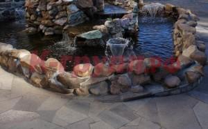 Природный камень для водопадов и альпийских горок от К-групп фото